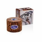 Ταινία κινησιοεπίδεσης Kinesiology Cure Tape Art Orange/Black 5c