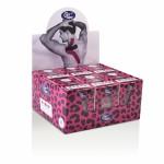 Ταινία κινησιοεπίδεσης Kinesiology Cure Tape Art Pink/Black 5c